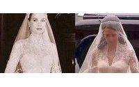 Kate come Grace: l'abito, firmato Burton, ricorda quello della principessa di Monaco