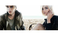 Burberry's new campaign stars Karen Anne and Johnny Flynn