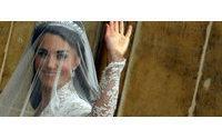 Kate Middleton wows crowd in McQueen designer's dress