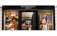 Burberry Brit arrives in the UK