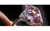 Rare pink diamond on auction in Switzerland