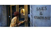 Saks profit up on more full-price sales