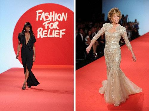 Naomi Campbell, Jane Fonda