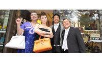 Hong Kong handbag retailer surges 66% on debut