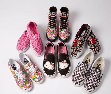 Hello Kitty, Vans