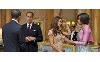 A ruba il vestito indossato da Kate all'incontro con gli Obama