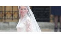 La robe de mariage de Kate exposée au public à Buckingham cet été