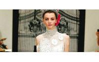 纽约婚纱周2012春季系列:演绎梦幻