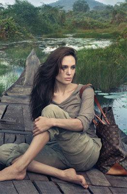 Angelina Jolie, Louis Vuitton