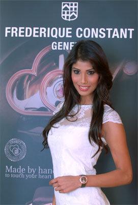Actu : Frédérique Constant choisit Miss Monde 2010 pour ambassadrice Frederique-constant-miss-mo