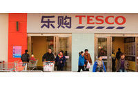 Tesco misses UK sales forecasts, overseas better
