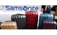 Samsonite falls 11 pct in HK debut; bodes ill for Prada