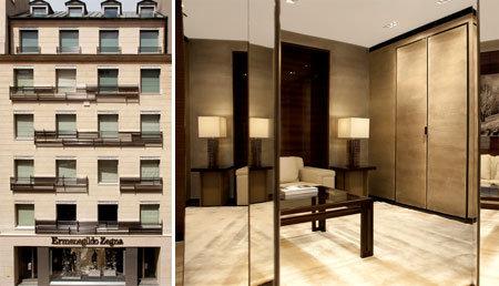Ermenegildo Zegna inaugura il suo global store parigino - Notizie ... 5d72d833050