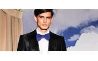 Tuxedos launch Paris menswear shows