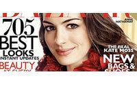 Anne Hathaway é capa de revista de moda e fala sobre amor