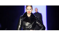 Jean Paul Gaultier на Неделе моды в Париже