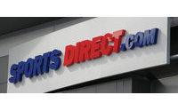Sports Direct posts lift in sales