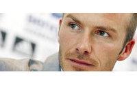 David Beckham stilista di intimo per H&M
