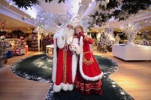 Addobbi Natalizi Harrods.Londra Nei Grandi Magazzini E Gia Natale Ma Per Il Ramadan Notizie Distribution 192045