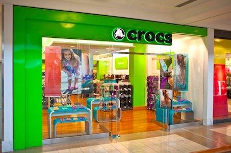 3b519c1b202a31 The Crocs Lenox Square Mall store.