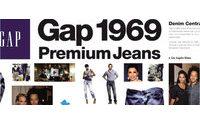 盖普1969Premium牛仔成为其核心业务