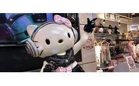 DJ Hello Kitty thrills teenagers in Japan store