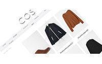 COS startet mit einer Online-Boutique