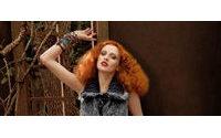 Karen Elson : Imagen y co-creadora de la colección de Nina West Vintage America