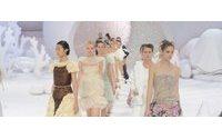 Показ Chanel Spring/Summer 2012 на Парижской Неделе моды