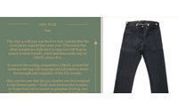 Levi's Vintage Clothing unveils its history of denim on the web