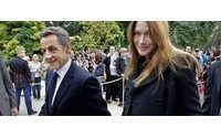 French leader Sarkozy, wife and Carla have a baby girl