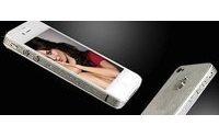 Quando l'iPhone è di lusso: platino e diamanti per il 4S firmato Stuart Hughes