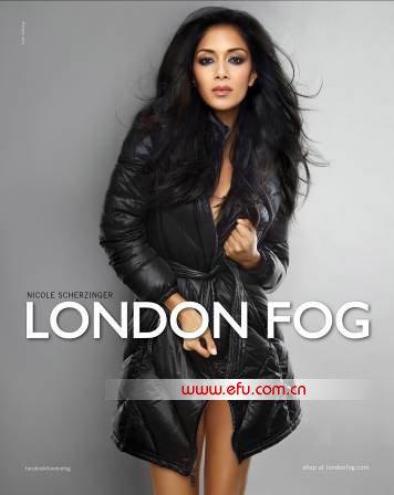 Nicole Scherzinger, London Fog