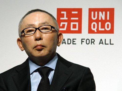 ファーストリテイリング, ユニクロ ファーストリテイリングの柳井正会長兼社長 / Photo: