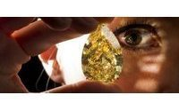 Who will buy $15 million 'Sun-Drop' diamond?