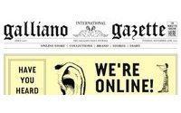 The John Galliano company launches e-commerce site