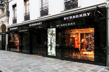 Faubourg Saint Honoré, Burberry