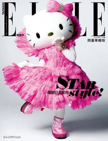 Hello Kitty, ELLE