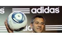 Adidas CEO sees no euro crisis impact so far
