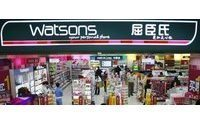 Watsons aims 3,000 mainland China stores in five years