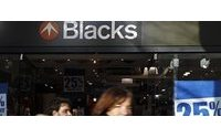 JD Sports s'empare de Blacks Leisure