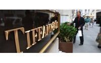 Tiffany holiday sales weaken; Zale, Signet rise