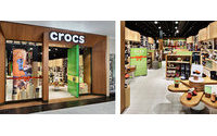 Crocs choisit la France pour installer son nouveau concept magasin en Europe