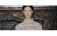 Valentino's virginal belles wrap up Paris couture