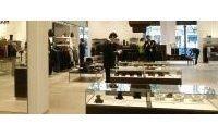 Hugo Boss-Boutique auf den Champs-Elysées im Umbau