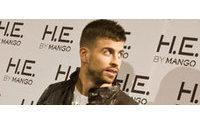 Gerard Piqué repite como imagen de la marca H.E. by Mango