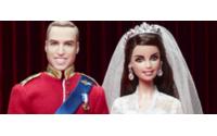 Barbie celebra aniversário do casamento real