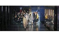 Vuittons spektakuläre Modelokomotive in Paris