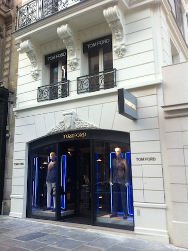 Tom Ford Opens Menswear Store In Paris News Retail