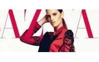 Izabel Goulart aparece seminua em capa de revista de moda
